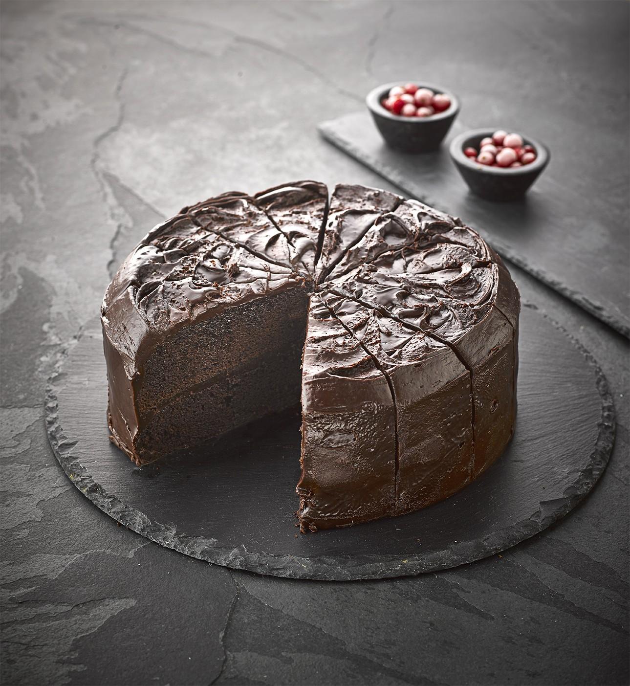 Sidoli Vegan Devils Food Chocolate Cake