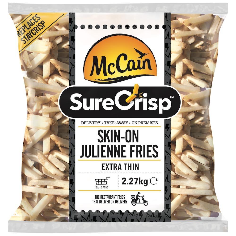 McCain Surecrisp 6mm skin on fries