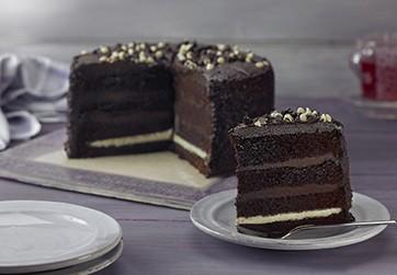 Mademoiselle 4 Layer Chocolate Fudge Cake
