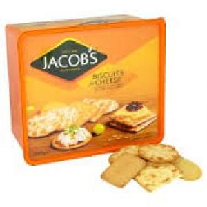 JACOBS BISCUITS FOR CHEESE -6x900g