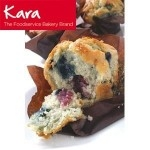 KARA BLUEBERRY INJECTED TULIP MUFFINS        -24s