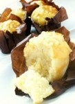 KARA LEMON & WHITE CHOCOLATE INJECTED TULIP MUFFINS    -24