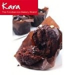 KARA TRIPLE CHOCOLATE INJECTED MUFFINS TULIP    -24s