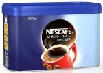 NESCAFE DECAFFEINATED COFFEE GRANULES   -6x500g