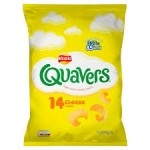 WALKERS QUAVERS CHEESE FLAVOUR         -32x20.5g