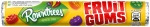 ROWNTREES FRUIT GUMS (TUBES) -36s