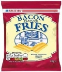 SMITHS BACON FRIES CARDED -24x25g