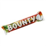 BOUNTY PLAIN CHOCOLATE RED BOX           -24s