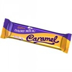CADBURYS CARAMEL WITH DAIRY MILK BARS           -48s