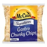 McCAIN SIGNATURE GASTRO CHUNKY CHIPS      - 4 x 2.27K