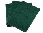 GREEN SCOURING PADS 22x15cm              -50x10s