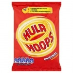HULA HOOPS ORIGINAL SALTED            -32x34g