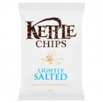KETTLE CHIPS LIGHTLY SALTED           -12x150g