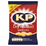 KP DRY ROASTED PEANUTS CARD          -7x21x50g