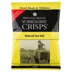 LARGE BAGS YORKSHIRE CRISPS SEA SALTED-12x150g