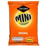 MCV MINI CHEDDARS CARDED ORIGINAL        -4x12x35g