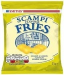 SMITHS SCAMPI FRIES CARD -24x27g